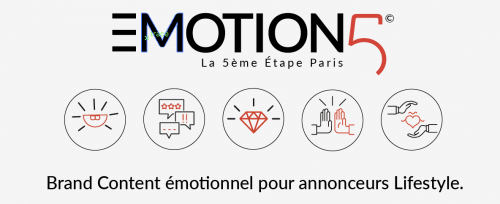 Marketing émotionnel Brand Content La 5ème Etape Paris