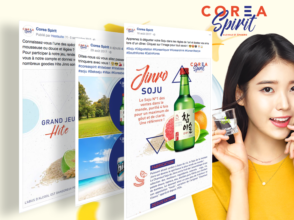 corea Spirit alcools coréens bar à soju k-pop k-shot tendance corée