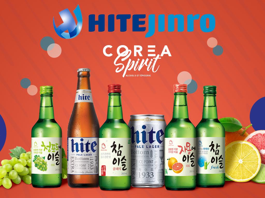 Hite Jinro Soju alcool coréen Corea Spirit