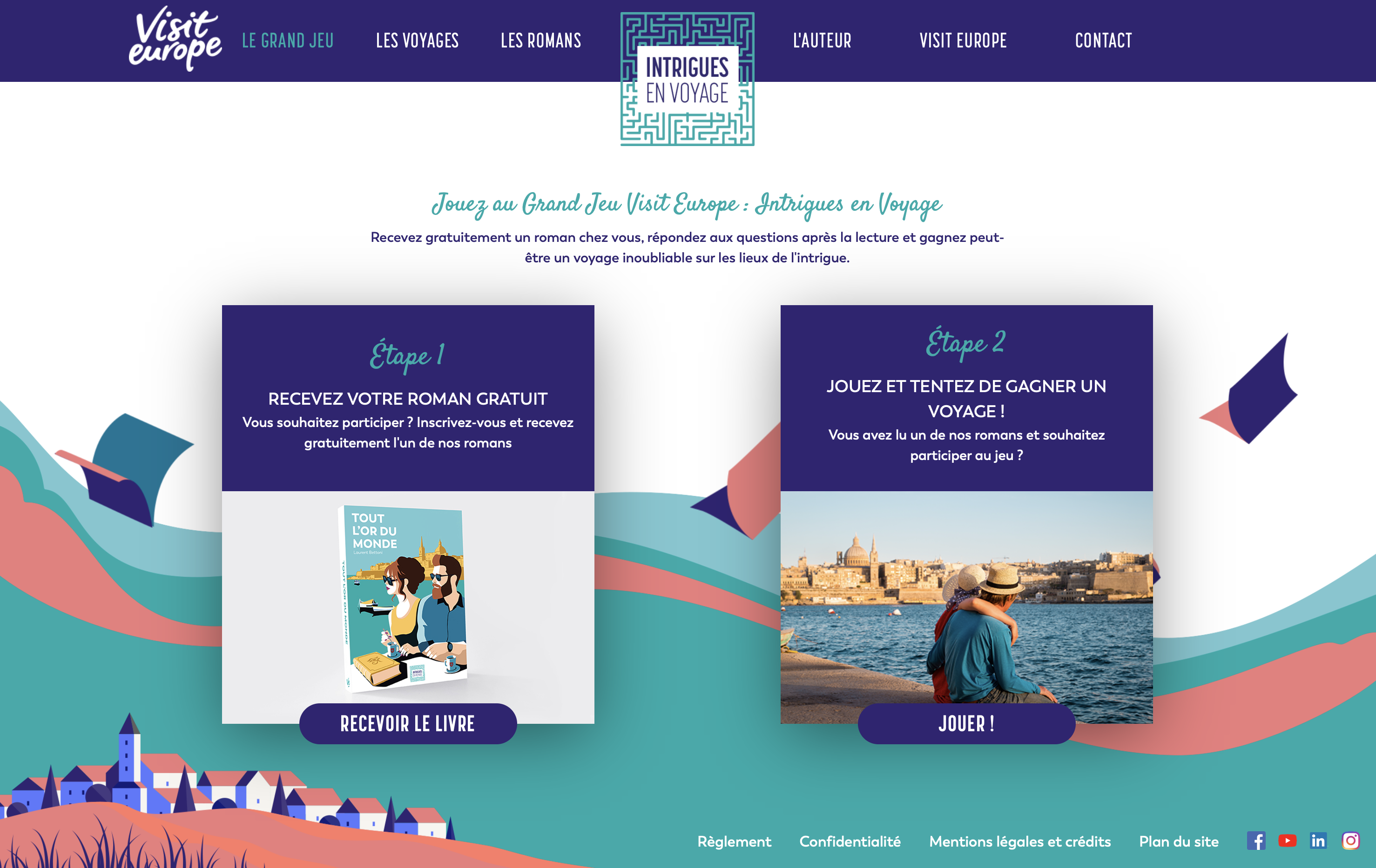Site évènementiel brand content tourisme livre édition