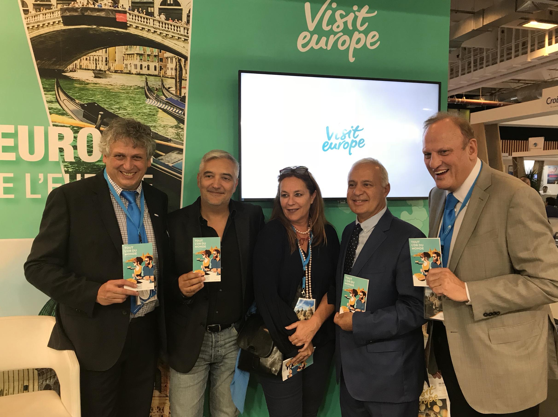 Lancement brand content tourisme Top Resa Visit Europe La 5ème Etape